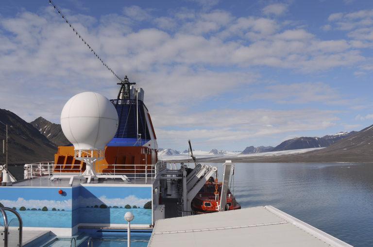 Brita Kreutzfeldt · Kreuzfahrt · Arktis · 2011 · Pool GPS
