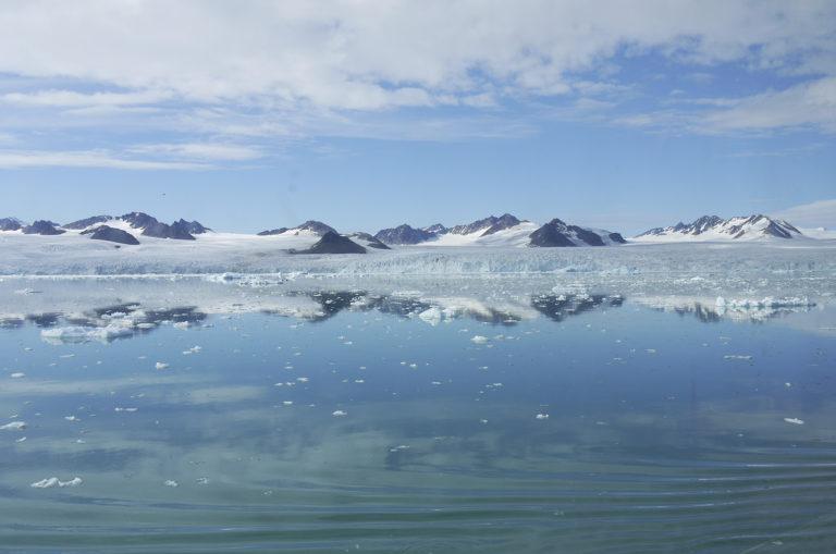 Brita Kreutzfeldt · Kreuzfahrt · Arktis · 2011 · Blautöne