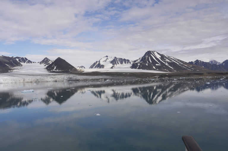 Brita Kreutzfeldt · Kreuzfahrt · Arktis · 2011 · Handlauf