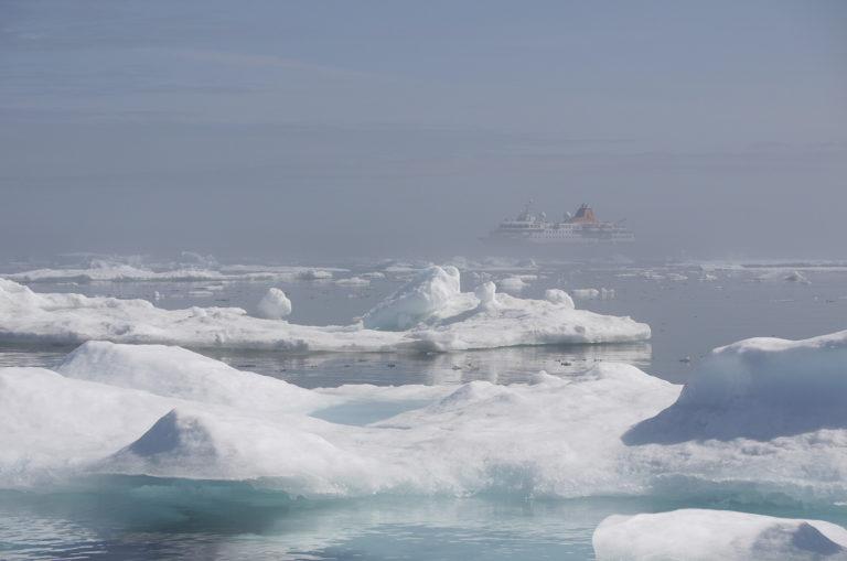 Brita Kreutzfeldt · Kreuzfahrt · Arktis · 2011 · Schiff