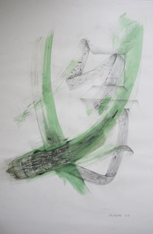 Brita Kreutzfeldt: Zeichnung mit Tusche